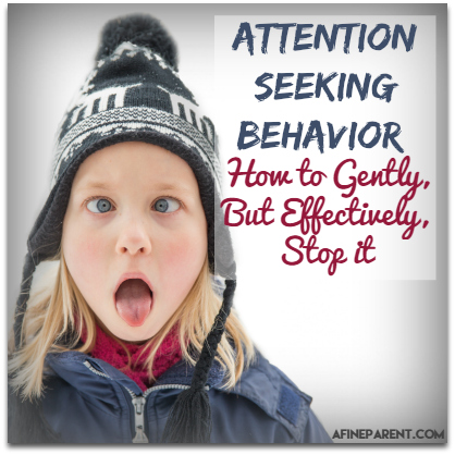 Attention Seeking Behavior - Main Poster